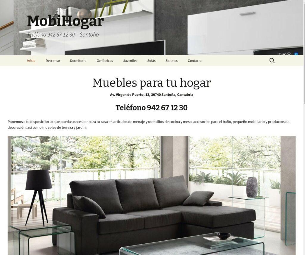 Muebles en Cantabria