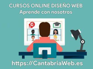 Cursos Online Diseño Web en Cantabria